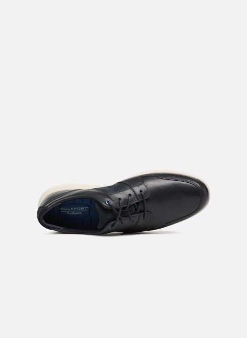 Lace-up shoes Rockport DP2 Fast Mudguard Blue view from the left